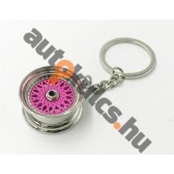 Felni BBS kulcstartó rózsaszín