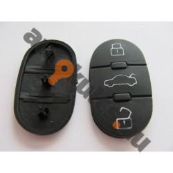 Audi 3 gombos nyomógomb